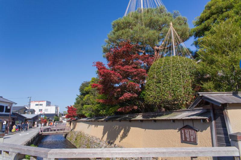 秋の長町武家屋敷跡