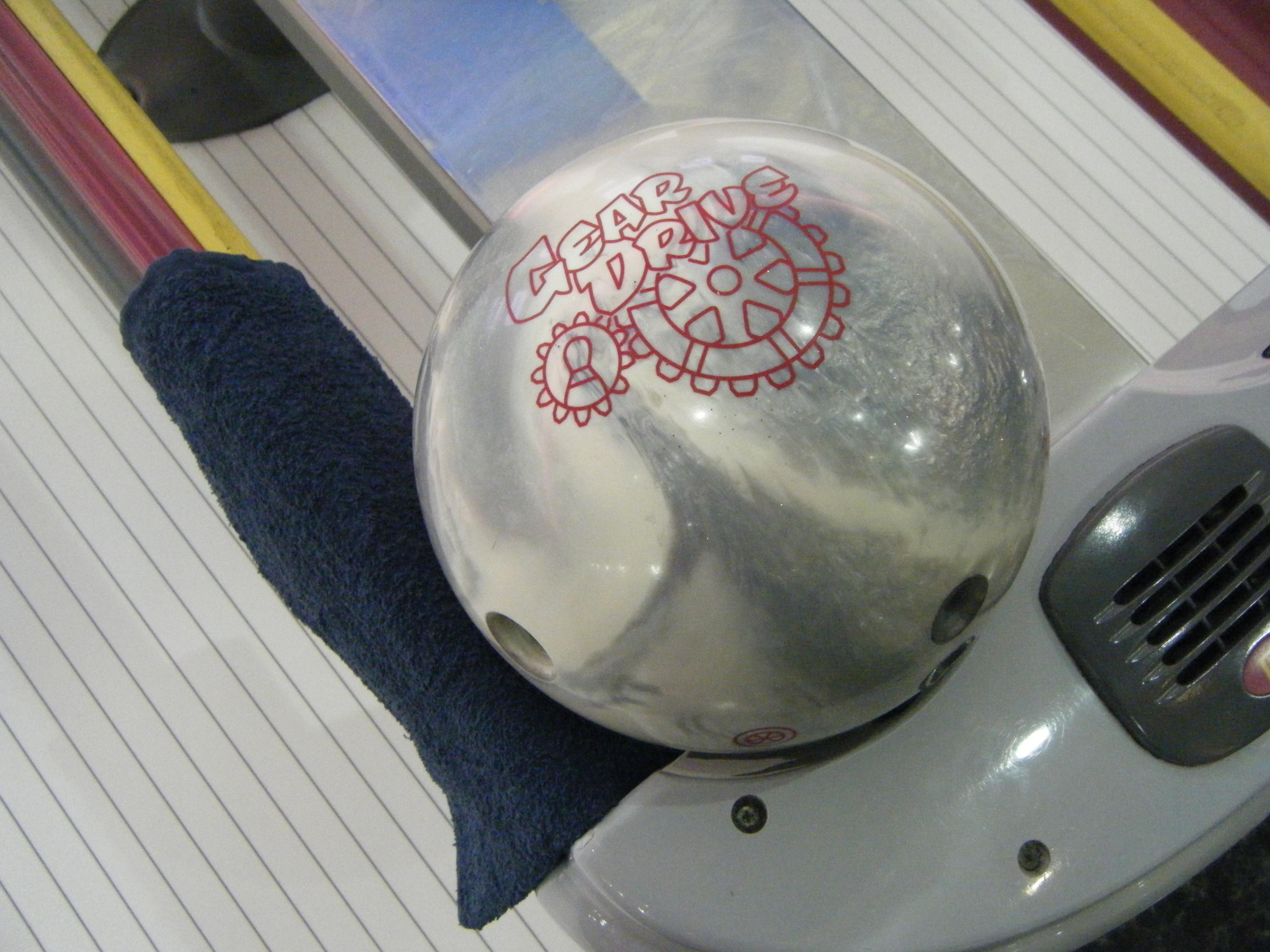 【ギアドライブ】安くて簡単に曲がるROUND1のボウリング・ボール!