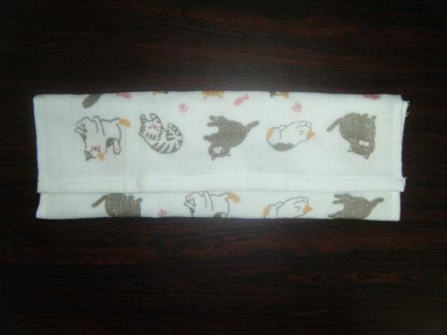 【新型コロナウイルス対策】縫わないから超簡単!針糸・ミシン・アイロン不要の「折るだけ布マスク」の作り方