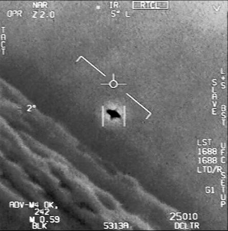 【日本の自衛隊も】ついに!米軍がUFO撮影に成功?
