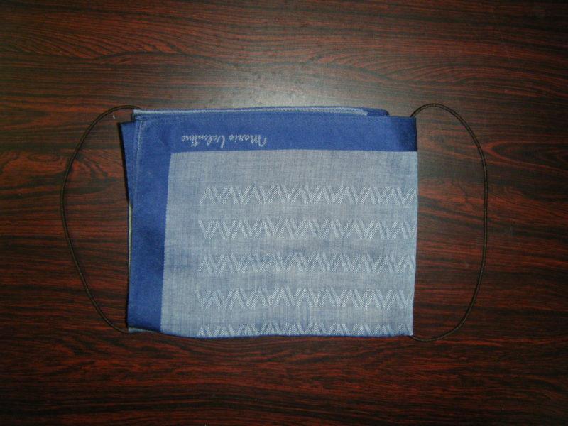 【究極の手作りハンカチマスク】超簡単だけど不織布も使えて効果抜群!
