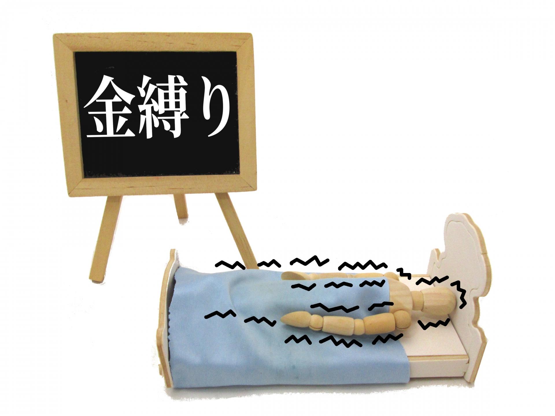 【レム睡眠】金縛り(かなしばり)の原因は幽霊?
