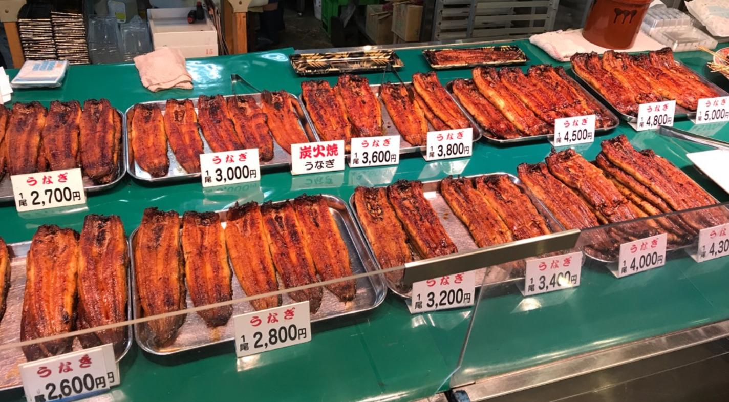 【うなぎ】近江町なら「みやむら」と「杉本水産」がおすすめ